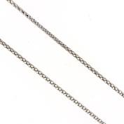 Silver Chain, 46cm Silver Round Cable Chain
