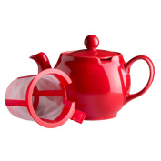 The Republic Of Tea Scarlet Red Chatsford 4 Cup Teapot