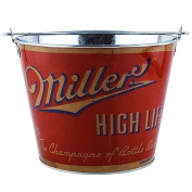 High Life Retro Full Wrap 4.7l Bucket is made in the traditional metal beer bucket style for outdoor or indoor use