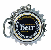 Men Women Man Woman Ladies Lady Gents Him Her - Low Cost Great value Beer Bottle Opener With Keychain - Charming Retro Design - Perfect for Secret Santa Stocking Fillers Xmas Christmas Birthday Valentines Anniversary Gift Present Idea - One Supplied