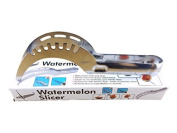 Arpoador Stainless Steel Professional Watermelon Slicer Corer Smart kitchen helper (Silver)