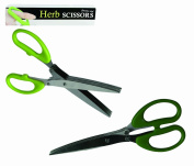 Men Women Man Woman Ladies Lady Gents Him Her - Number One Stainless Steel Herb Scissors - Useful Kitchen Gadget - Perfect for Secret Santa Stocking Fillers Xmas Christmas Birthday Valentines Anniversary Gift Present Idea - One Supplied