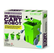 4M Eco-Engineering Rubbish Cart Robot Toy by 4M