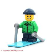 LEGO Holiday MiniFigure - Skier Boy w/ Winter Jacket