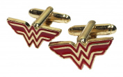 DC Comics Wonder Woman Logo Metal/Enamel Cufflinks