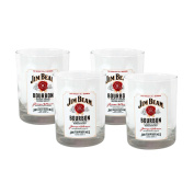 Jim Beam Double Old Fashioned Set of Four