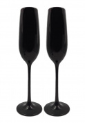 KCHAIN 2pcs Champagne Flute Glass 210ml