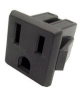 Chassis Mount AC Receptacle
