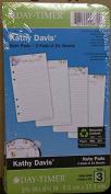 Day-Timer Kathy Davis Notepad Refill, Portable Size