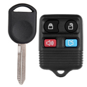 Scitoo Replacement For 2006 2007 2008 2009 2010 Ford Explorer Key + Fob Remote