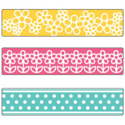 Sizzix 660393 Textured Impressions Embossing Folders, Flowers & Dots Set by Stephanie Barnard, 3-Pack