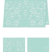 Craftwell USA Embossing Folder, Divine Damask, 22cm by 28cm