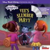 Vampirina Read-Along Book and CD Vee's Slumber Party