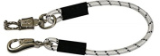 Showman 60cm Bungee Cross Tie with Quick Release Panic Snap & Heavy Duty Bull Snap