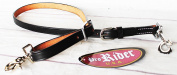 Horse Trailer Tie 100cm Leather Cinch Connecting Wither Strap with Snaps 40409