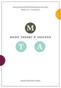 Music Theory and Analysis, Volume 2.2