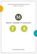 Music Theory and Analysis, Volume 3.1