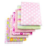 Cosy Fleece Baby Blankets for Girl, Assorted