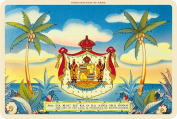Hawaiian Vintage Postcards Pack of 30 - Aloha Nui Coat of Arms