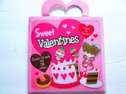 32 Sweet Valentines for friends & teachers + stickers