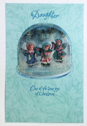 Christmas Card for Daughter (Daughter one of the true joys of christmas) American Greetings