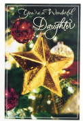 Christmas Card for Daughter (You're a wonderful Daughter) American Greetings
