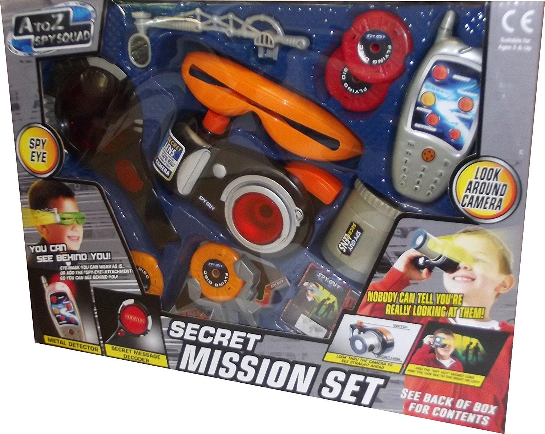 A to Z Spy Squad Secret Mission Set