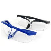 Yalulu 2Pcs Kids Children's Black/Blue Outdoor Game Protective Goggles Safety Glasses Eyewear for Nerf N-Strike Elite Gun Toy Gun Game Eye Protection