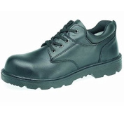 Capps LH400 Unisex Water Resistant Smooth Leather Non Metallic Safety Gibson Shoe With Composite Toe Caps
