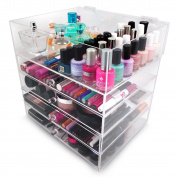 Sorbus 5-Tier Acrylic Cosmetic and Makeup Storage Case Organiser