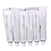6 X 30g Tubes of Repair Glue for Inflatable Boats or PVC Aquos