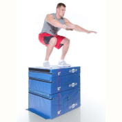 Gronk Fitness Soft Plyo Box Set. 15cm 30cm & 46cm - Commercial Grade