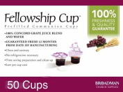 Fellowship cup, Prefilled communion cups juice/wafer-50 cups