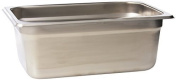 Update International (NJP-254) 2.8l Fourth Size Anti-Jam Steam Table Pan by Update International