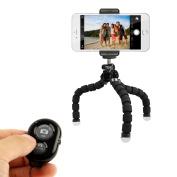 KobraTech Mini Cell Phone Tripod - TriFlex Mini - Flexible iPhone Tripod for Any Smartphone