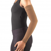 Truform 3325, Compression Arm Sleeve, 20-30 mmHg, Brown, Small
