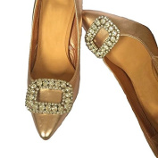 Chrissy Crystal Buckle Shoe Clips