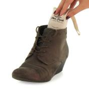 Hangerworld Pack of 4 Cedar Wood Shoe Freshener Deodoriser Pouch Bags - Keep Shoes Fresh & Eliminates Odours