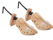 2 x MENS GENTS SHOE STRETCHERS TREE WOODEN SHAPER BUNION CORN BLISTER SIZE 6-12 New