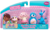 Disney Doc Mcstuffins 4 Figure Playset Moo Moo, Lambie, Boppy & Stuffy
