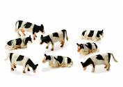 8 Friesian Cattle by Kids Globe