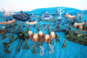 WWII European Theatre Playset By Classic Toy Soldiers, Inc