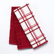 Food Network Plaid 2-pk. Antimicrobial Kitchen Towels