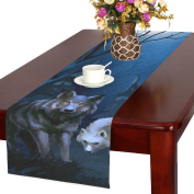 Artsadd Wolf Kitchen Dining Table Runner 41cm x 180cm For Dinner Parties, Events, Decor
