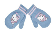 Hello kitty Baby Girls' Gloves blue blue one size