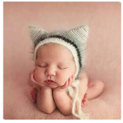 Newborn Baby Photography Props Boy Girl Crochet Costume Outfits Cute Hat