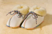 "'Baby Tweeting ""Sheepy Boots Natural 15-16"