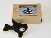 Woolbuddy Needle Felting Orca Kit