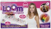 Childrens Kids Girls Friendship Loom Rubber Bands Bracelet Ring Making Kit [Toy]