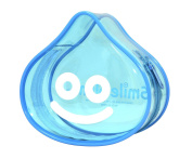 Dragon Quest Smile Slime clear pouch